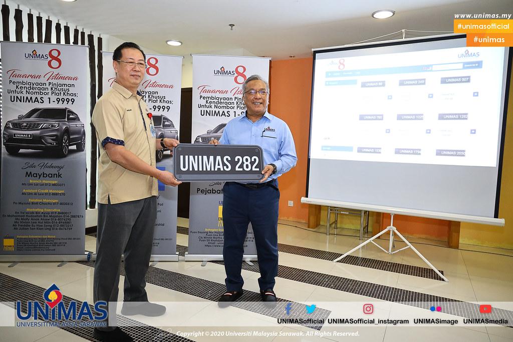 Majlis Pelancaran Nombor Pendaftaran Khas UNIMAS