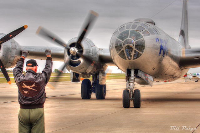 Marshaling in the B-29