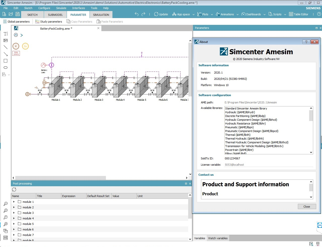 Working with Siemens Simcenter Amesim 2020.1.0 full license