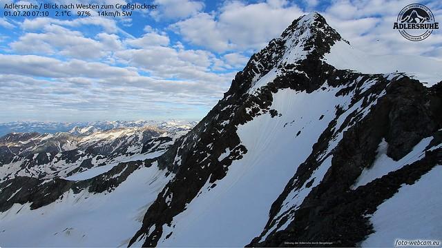 Bergsteiger und  Adler 01.07.2020