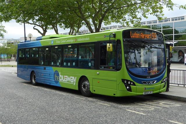 21235 / AE12 CJX - Volvo B7RLE / Wright Eclipse Urban 2 - Stagecoach East - Central Milton Keynes 30Jun20