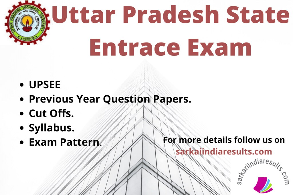 UPSEE Question papers