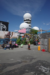 Teufelsberg Berlin, May 2019