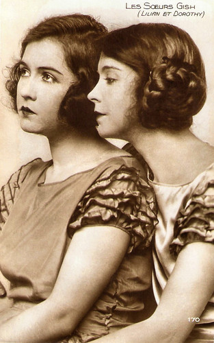 Dorothy Gish and Lilian Gish