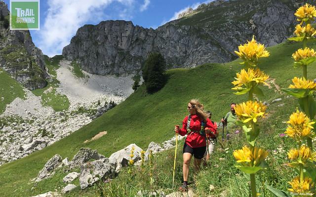 Trailrunning standplaatstocht in de Haute-Savoie