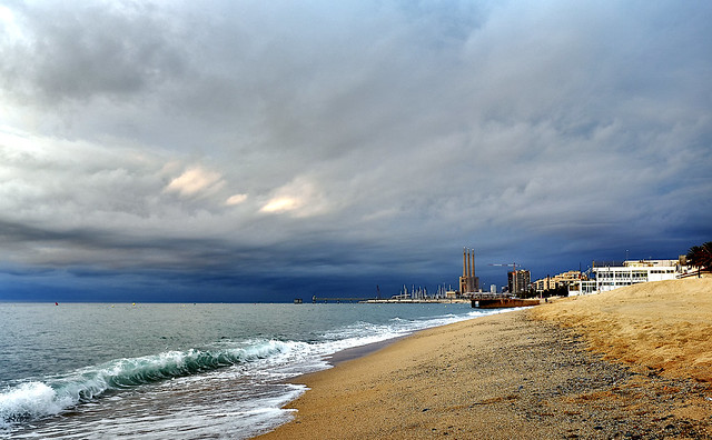 Clouds over Badalona