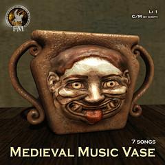 F&M * Medieval Music Vase