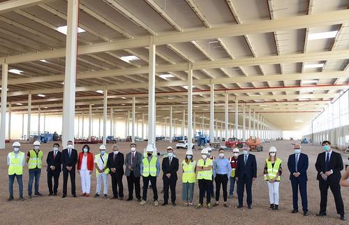 Visita a las obras del proyecto logístico Mountpark Illescas I