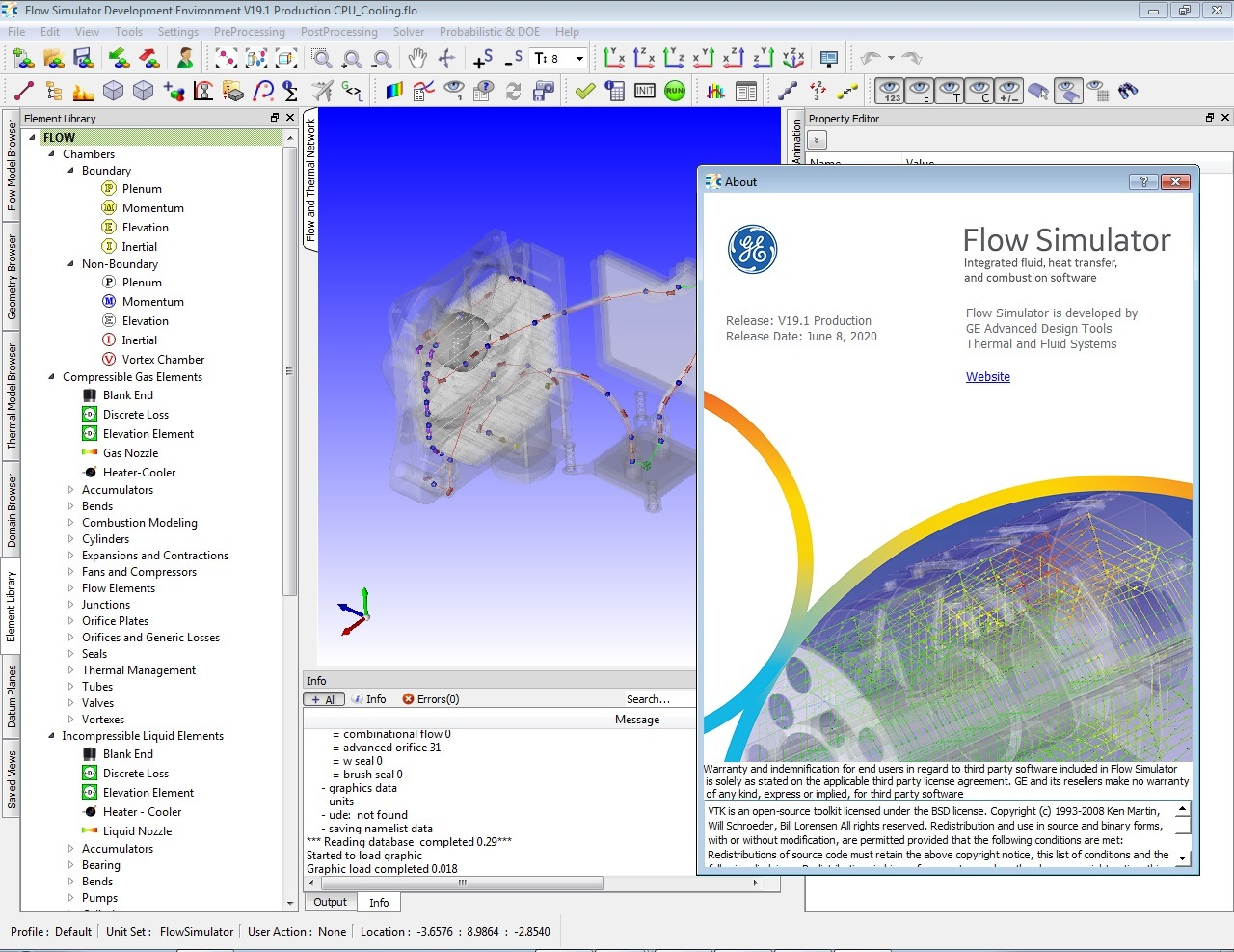Working with Altair Flow Simulator v19.1.2 full license