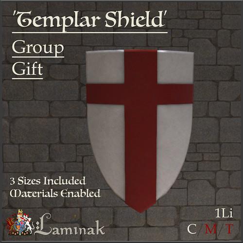 Group Gift - Templar Shield