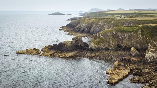 St Brides Bay, near St. Davids, Pembrokeshire Coast National Park, South West Wales, UK