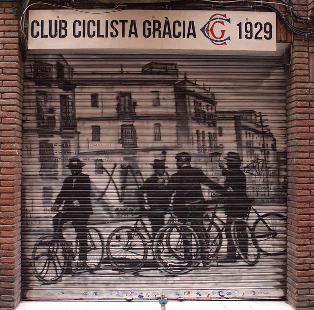 Club ciclista Grácia 1929