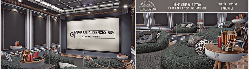 Home Cinema Skybox @ Fameshed
