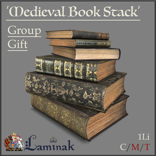 Group Gift - Medieval Book Stack