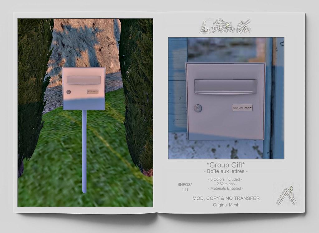 La Petite Vie – Group Gift – Boites aux lettres