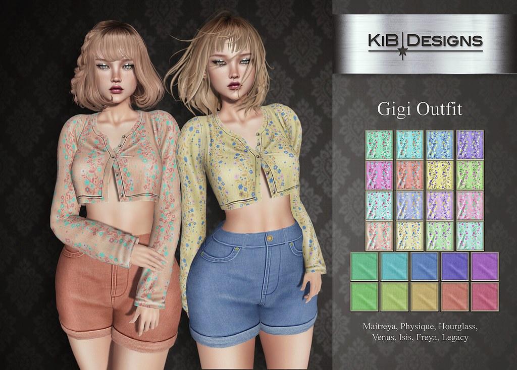 KiB Designs – Gigi Outfit @Designer Showcase