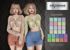 KiB Designs - Gigi Outfit @Designer Showcase
