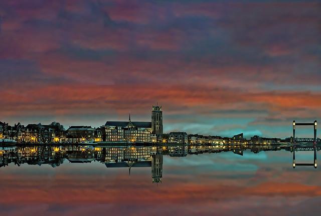 Dordrecht city view