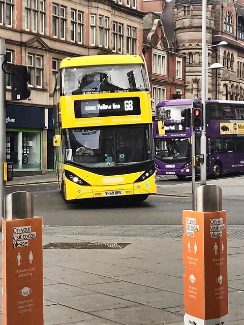 Nct 505 & 473 Yellow Line / Purple Line
