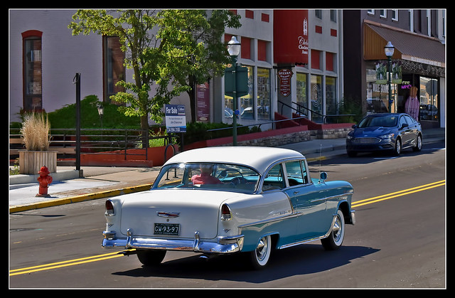 1955 Chevrolet Bel Air on the Move