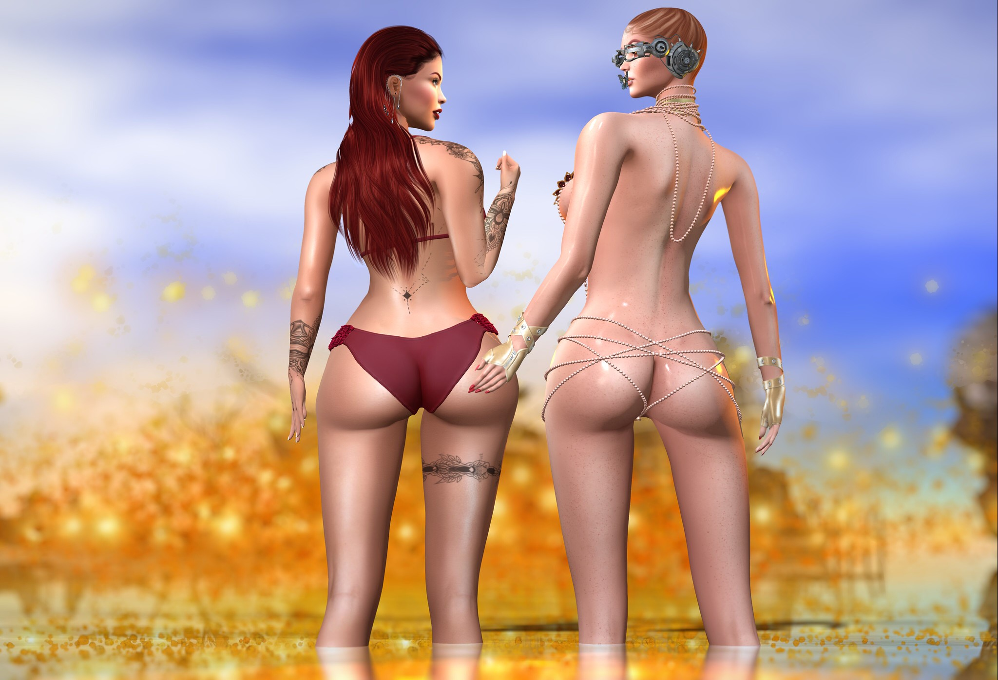 A Two Butt Challenge_028