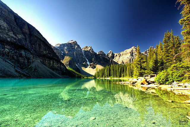 Lake Louise is a hamlet in Banff National Park, Alberta, Canada