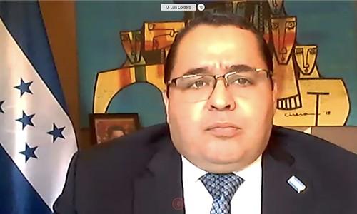 New Representative of Honduras Presents Credentials
