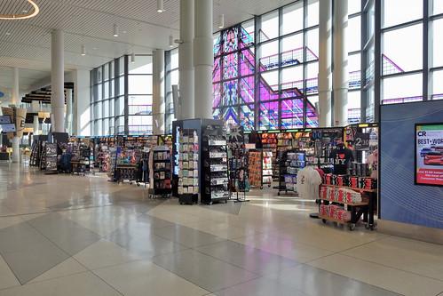 ROC Greater Rochester International Airport Newsstand 2020 3-16