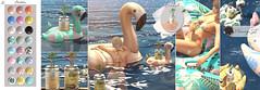 Dahlia - Flamingo Set