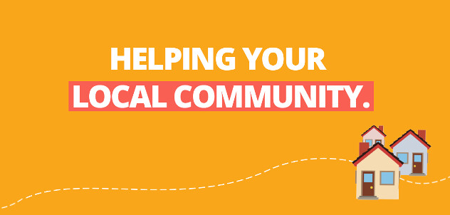 Helping your local community