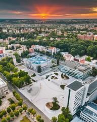 New square | Kaunas aerial #182/365
