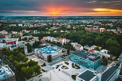 New square | Kaunas aerial