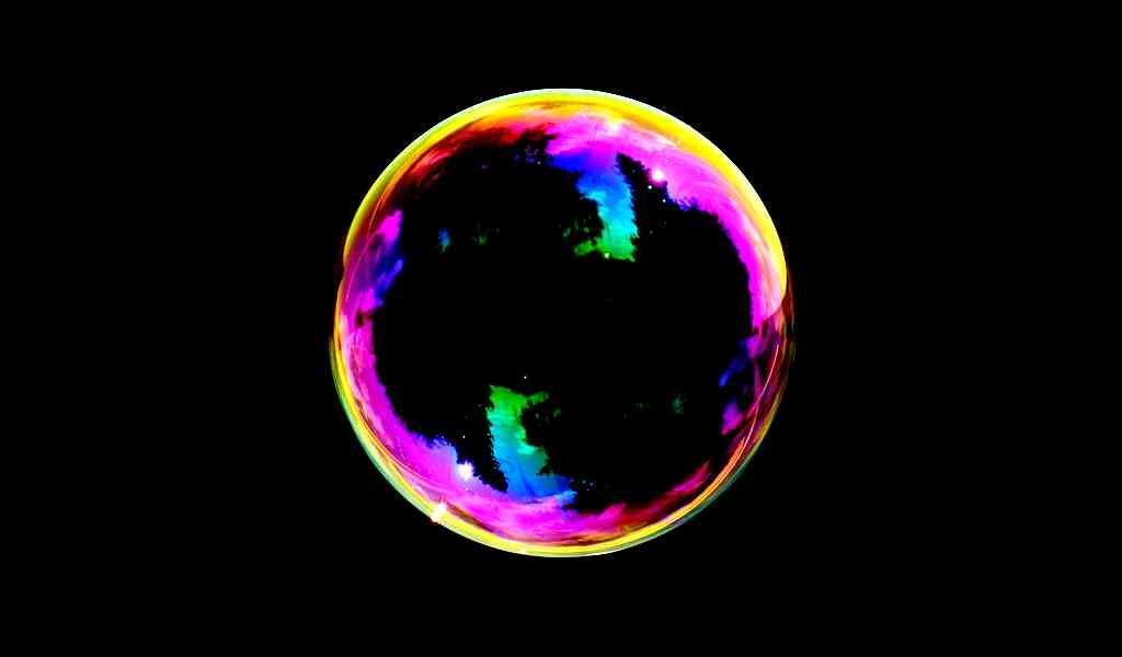 Les bulles de savon peuvent ramifier la lumière