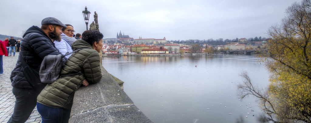 Reflecting on Vltava