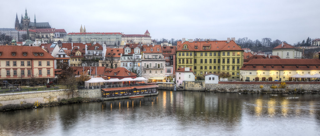 Vltava and Prague Castle