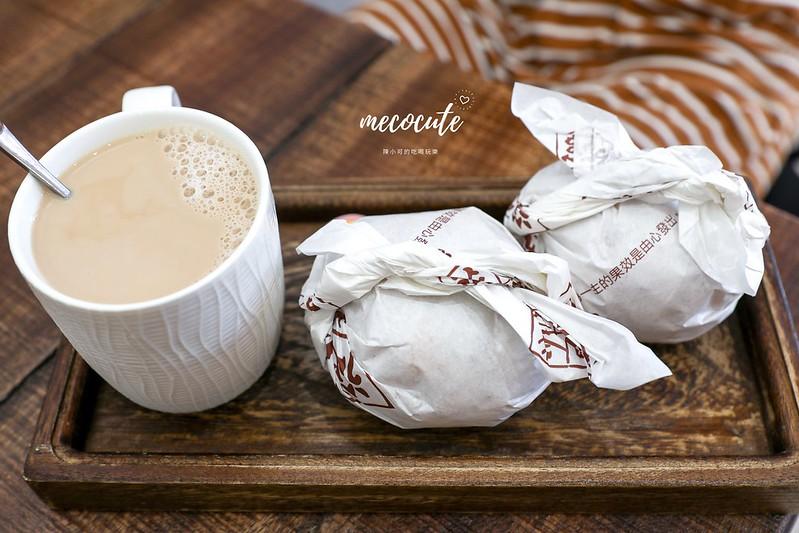 台北早餐,台北早餐推薦,從心茶館,從心茶館菜單,萬華,萬華從心茶館,萬華早餐,萬華飯糰早餐,飯糰 @陳小可的吃喝玩樂