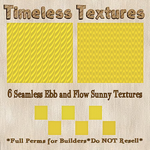 TT 6 Seamless Ebb and Flow Sunny Timeless Textures
