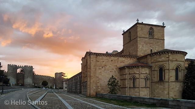 Basílica de San Vicente. Ávila.