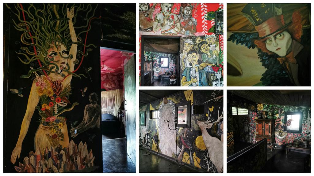 Inside Helga's Folly, Kandy
