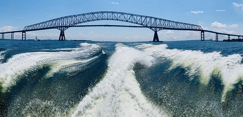 Splashing Under The Bridge by Theressia Shoup