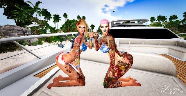 Partying On A Yacht