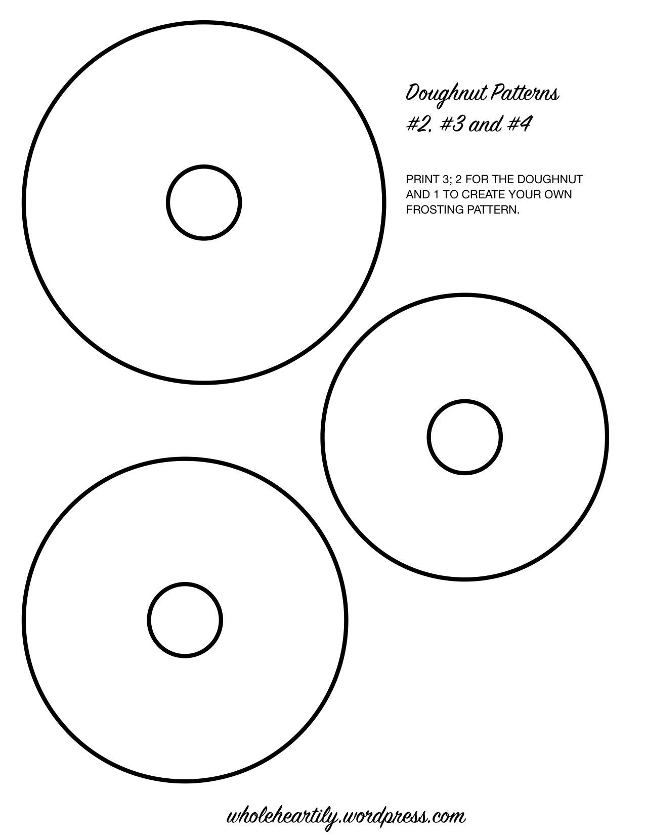 Doughnut Patterns