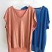 La Boutique Extraordinaire - Majestic Filatures - T-shirts lin et élasthane - 105 & 75 €