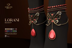 Romazin - Bracelets <Lorani> - Summer Camp by Flair for Events