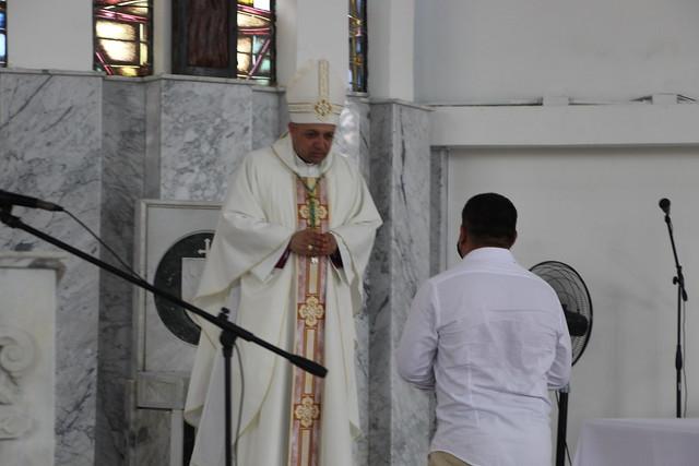 Posesión Canónica  obispo de Montelíbano, Monseñor Farly Yovany Gil Betancur