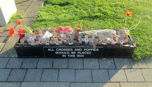 Box for Crosses and Poppies,Seaham
