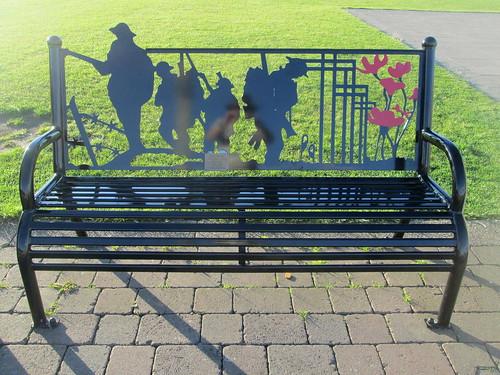 Seaham, War Memorial Bench