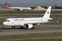 5A-WAT_AirbusA320-200_GhadamesAirTransport_IST