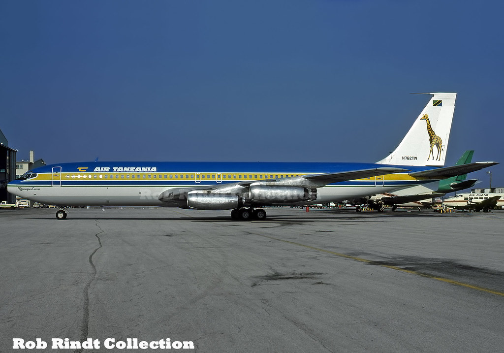 Air Tanzania B707-331 N762TW