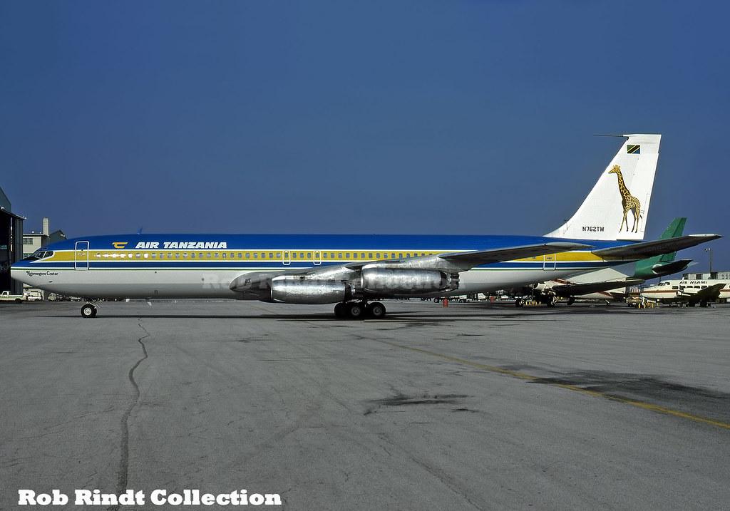 Air Tanzania B707-331 N762TW